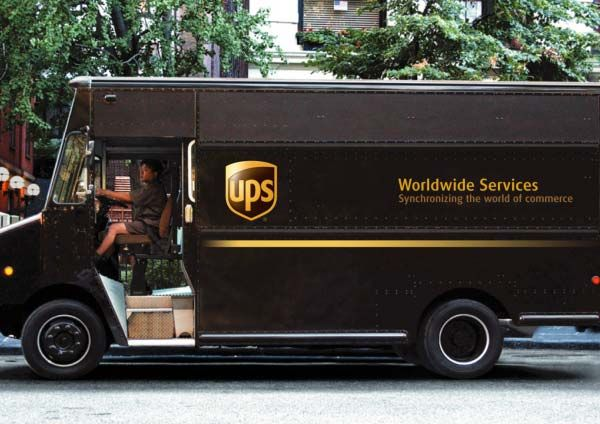 The Ups Truck With Images United Parcel Service Ups Resist Trump