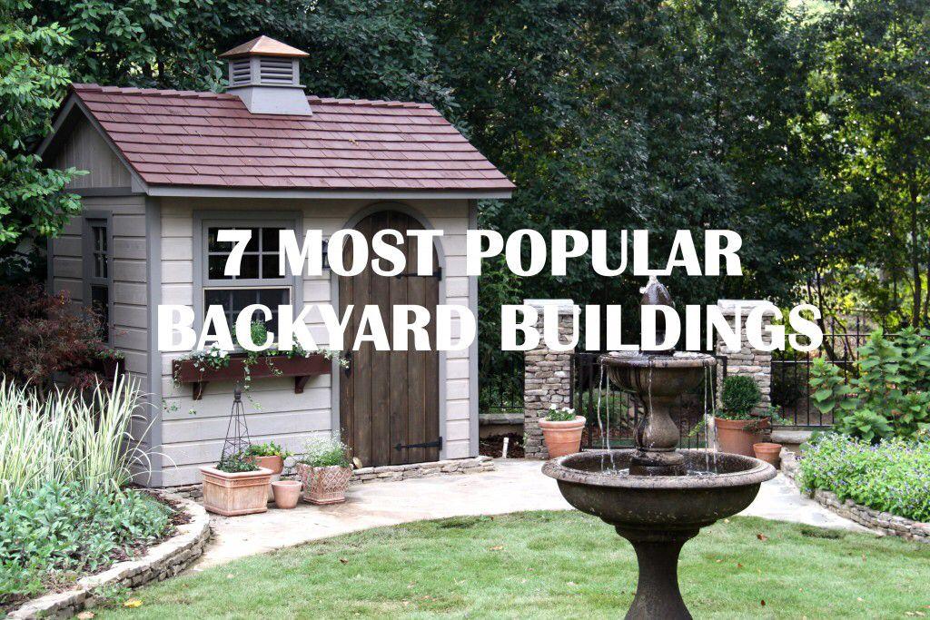 Ordinaire Backyard Buildings