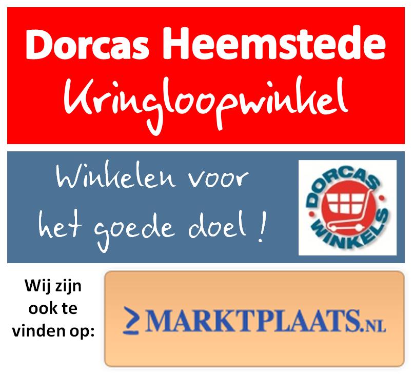 dorcas heemstede is ook te vinden op marktplaats!   dorcas