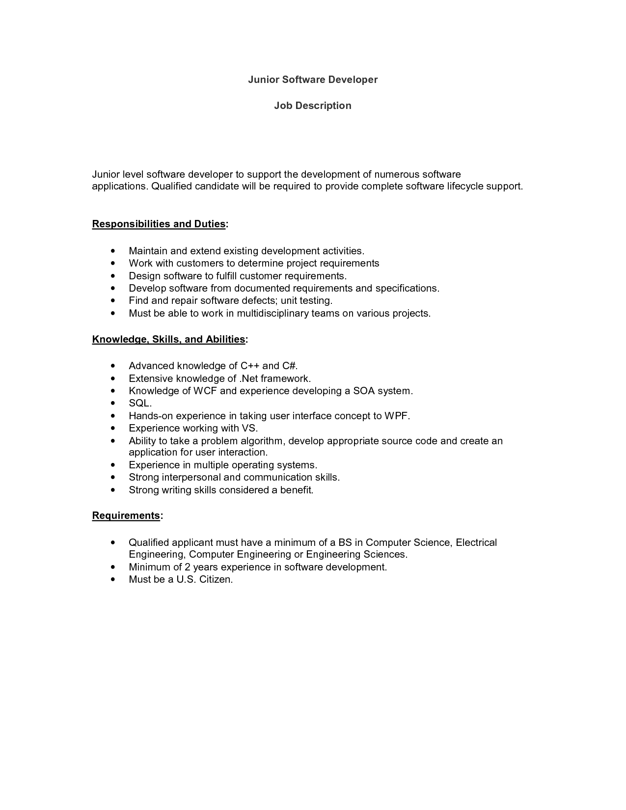 Software Developer Careers Free Software Developer Careers ...