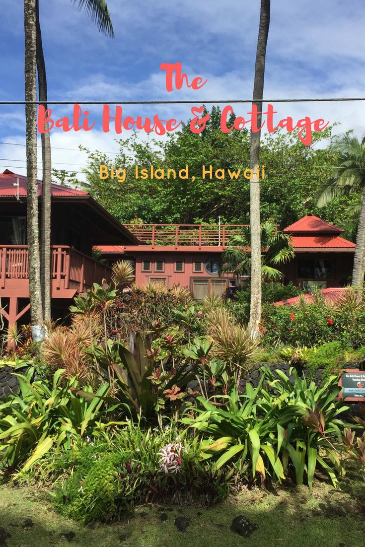 Stay at The Luxurious Authentic Bali House & Cottage on The Big Island of Hawaii! #Hawaii #HawaiiIsland #Travel