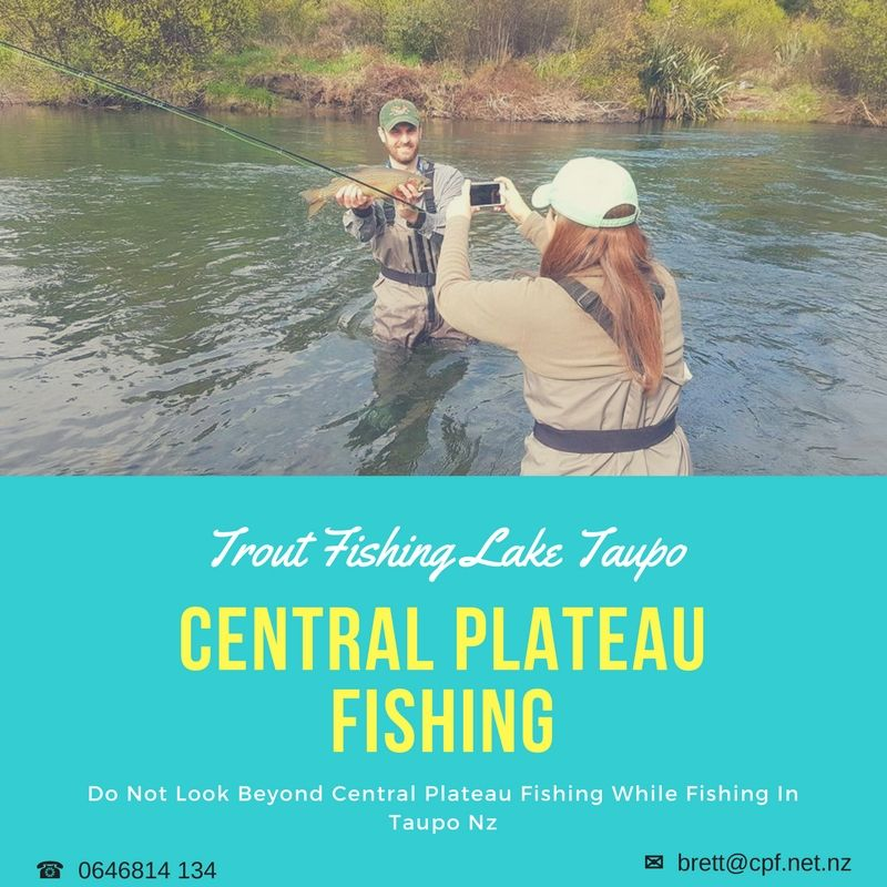 It Will Be Unwise To Look Beyond Central Plateau Fishing If You Do Not Want To Miss Out The Experience Of Fishing I Trout Fishing Lake Fishing Fishing Charters