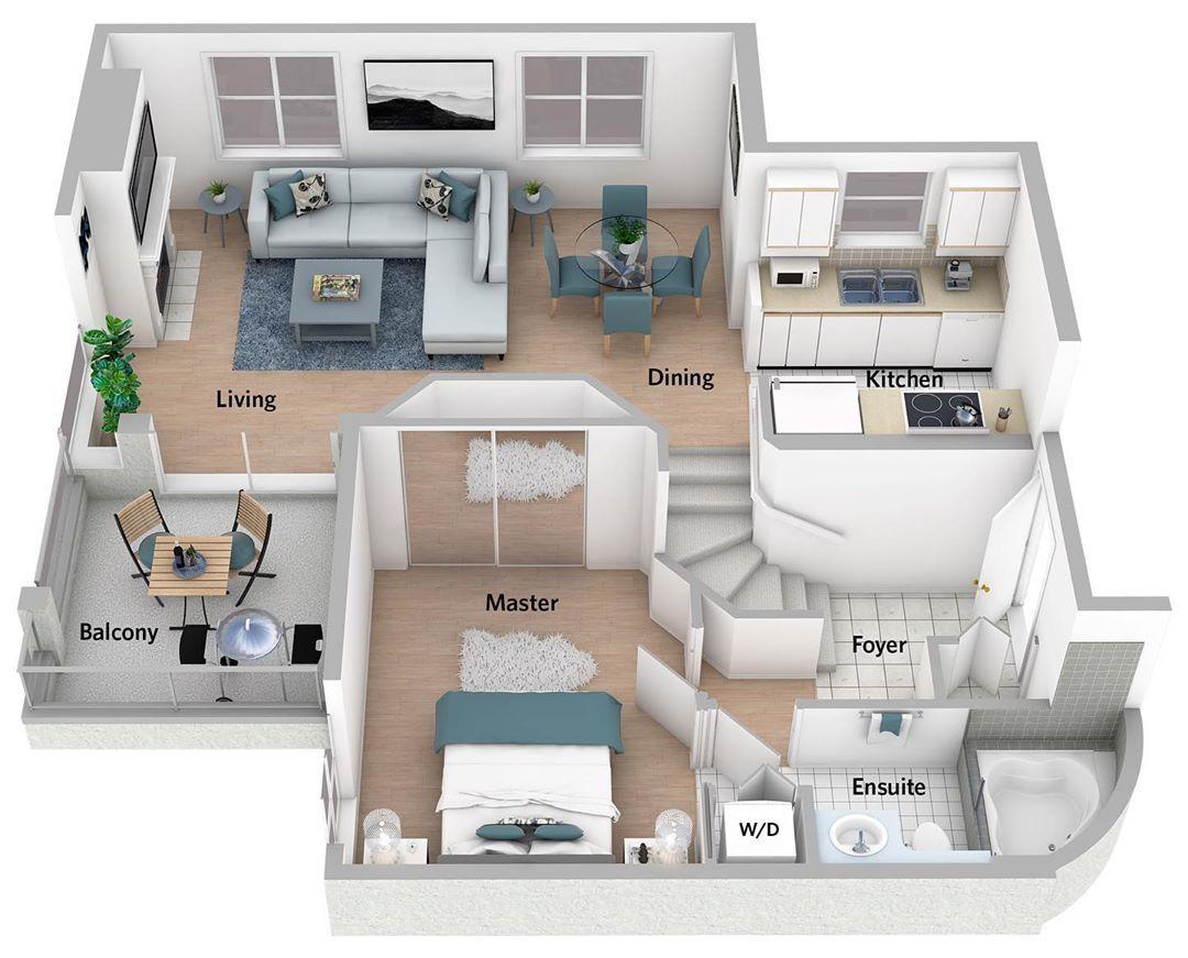 Optimum Floor Plan Designs On Instagram 212 2175 West 3rd Avenue Vancouver Deedeelum Optimumfloorplandesi Plan Maison Architecte Maison 3d Plan Maison