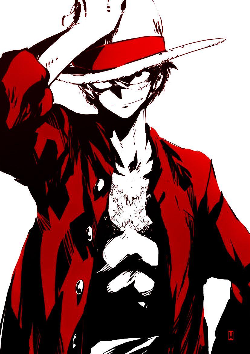 Monkey D Luffy One Piece Fanart Manga Anime Animeboy