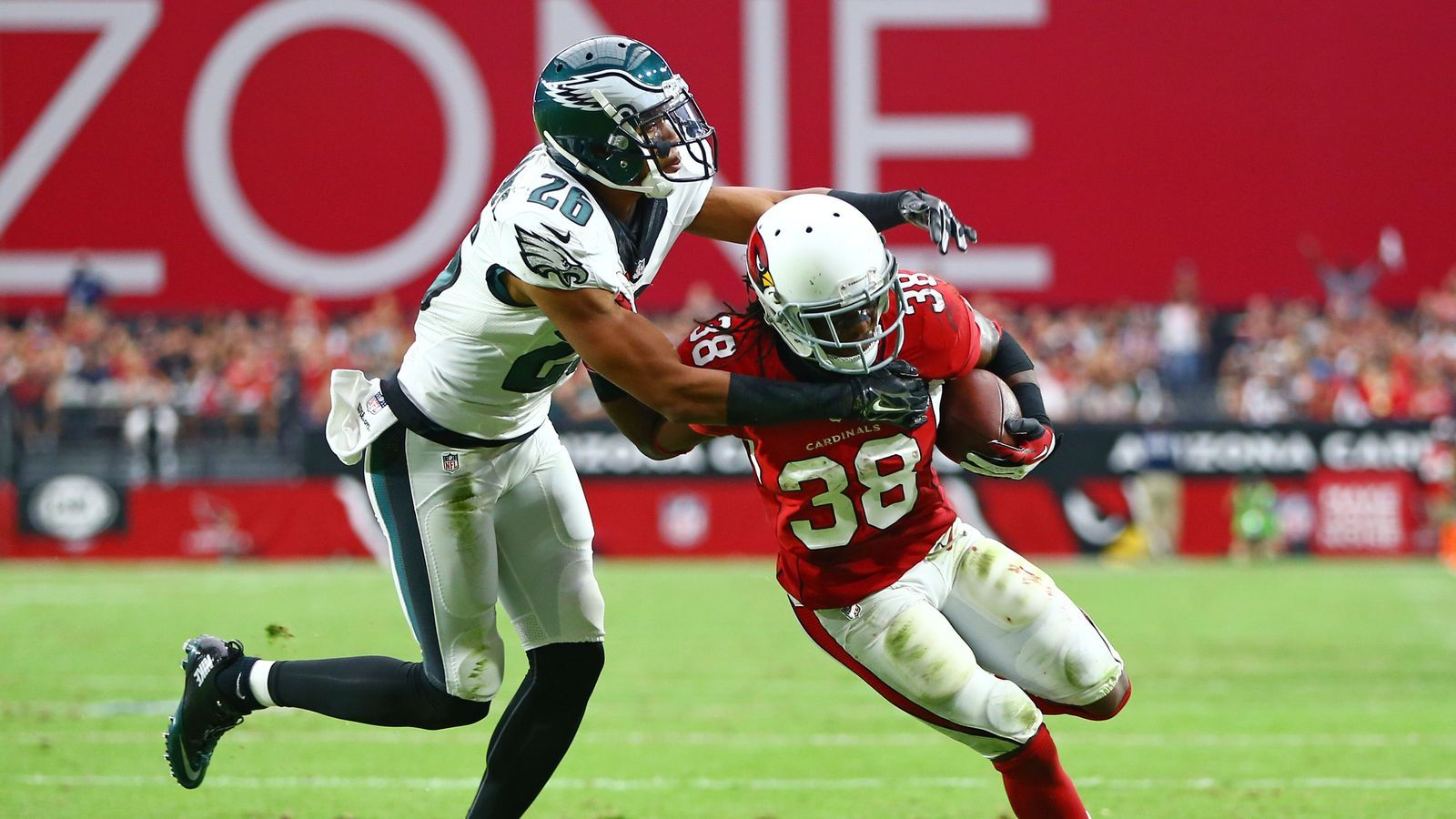 Andre Ellington Injury: Cardinals running back reportedly out for Eagles game