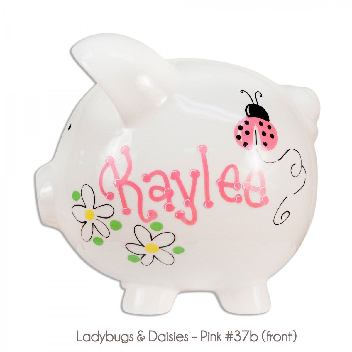 Personalized piggy bank nothing is more timeless than our take love this jumbo sized piggy bank can be personalized with name date to make a great baby keepsake gift that will be used for years negle Choice Image