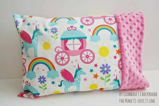 Travel Sized Pillowcase (with Minky