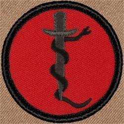 Retro Snake and Dagger (#R012)