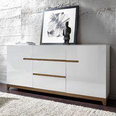 Buffet scandinave blanc laque Matri | Salon | Pinterest | Buffet