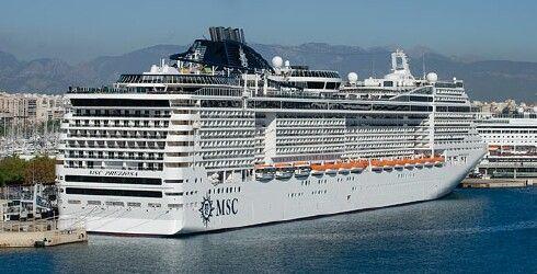MSC Preziosa Webcams MSC Preziosa Bridge Forward Webcam - Cruise ship live webcams