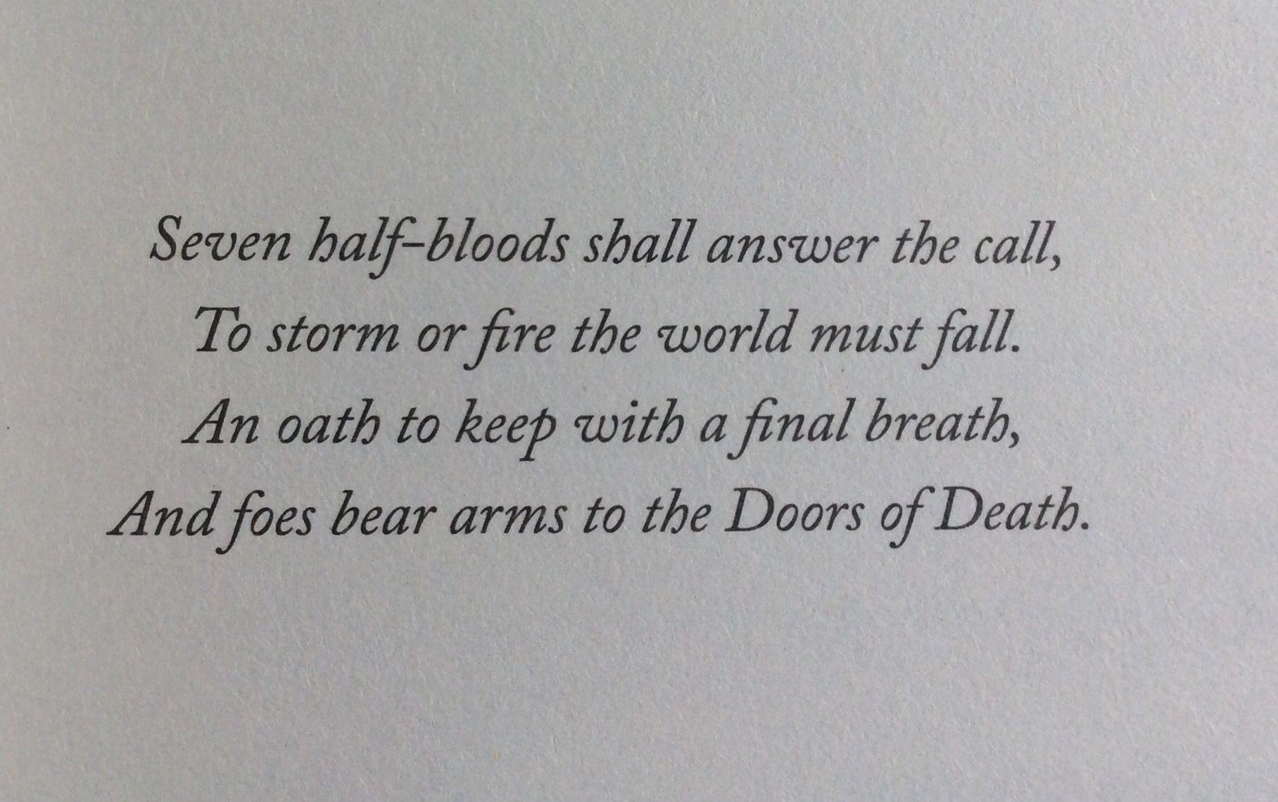 The Prophecy Of The Seven !! Eeeeeeeep !!