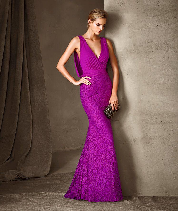 CARIS - Vestido de fiesta Pronovias | Moda | Pinterest | Vestidos de ...