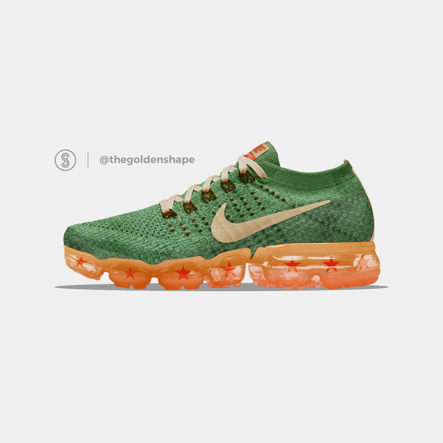 low priced 80834 d5324 Dragon Ball Super x Nike Air VaporMax Shenron