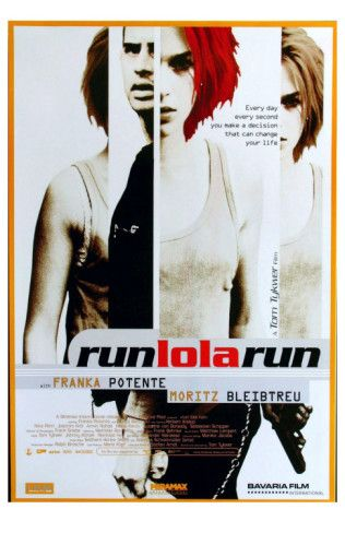 One of my favourite foreign films of all time!!! Franka Potente is incredible! Brilliant!! Imagine how fit she was by the end of this film!