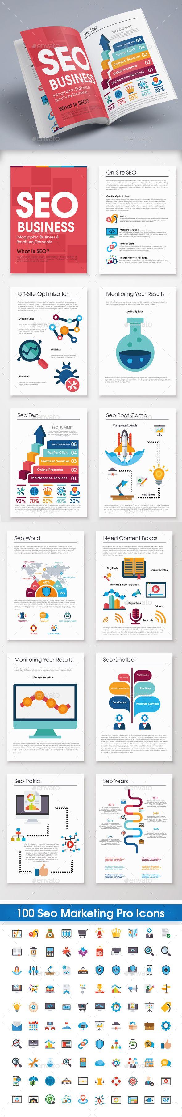 Seo Infographic Brochure