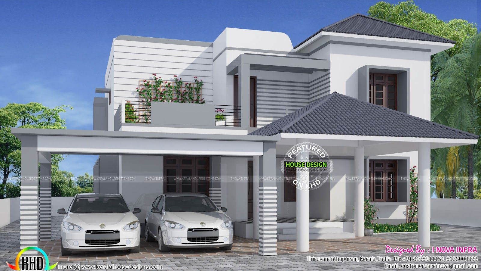 Simple House Outer Designs | Zion Modern House