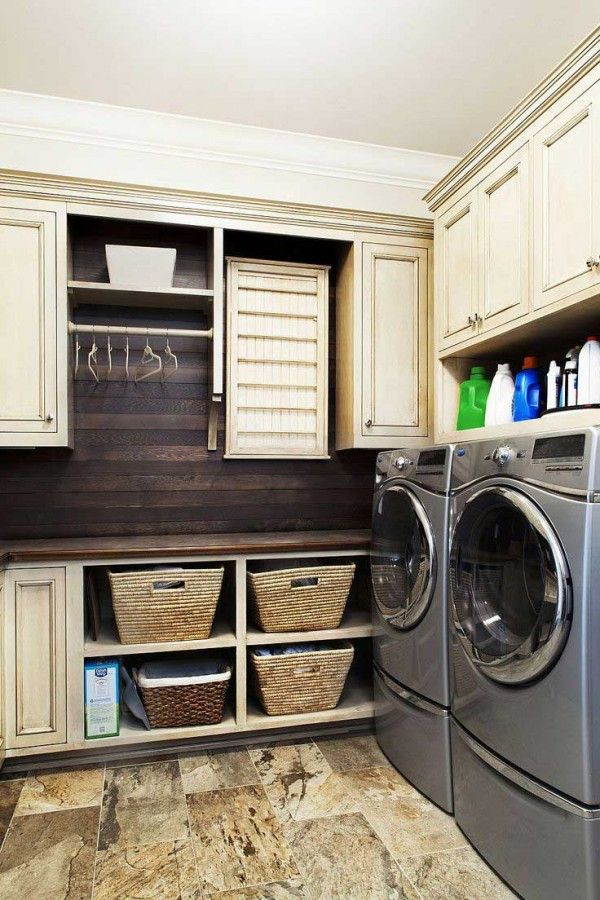 Rustic Laundry Chic Inspiration Pinterest Rooms And
