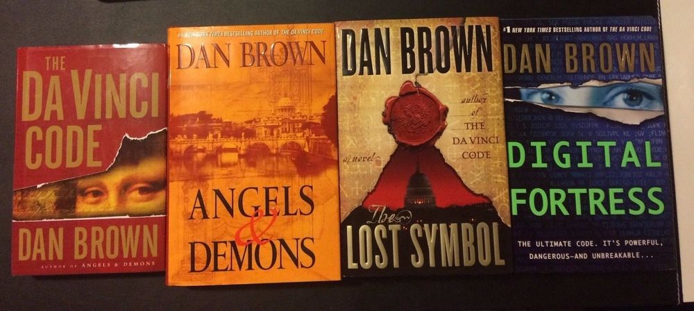 Dan Brown Collection Davinci Code Angels & Demons Lost