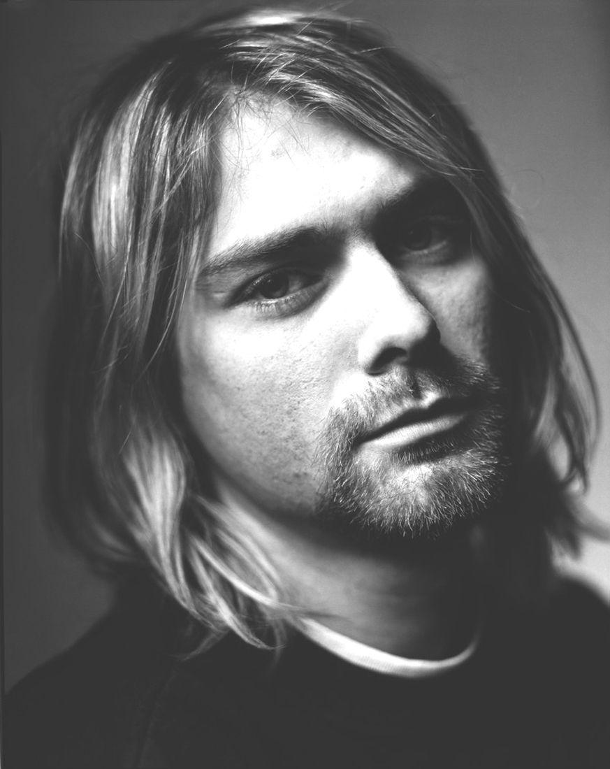 fotograficas oleograficas: δίπτυχος / díptico #2 Kurt Cobain