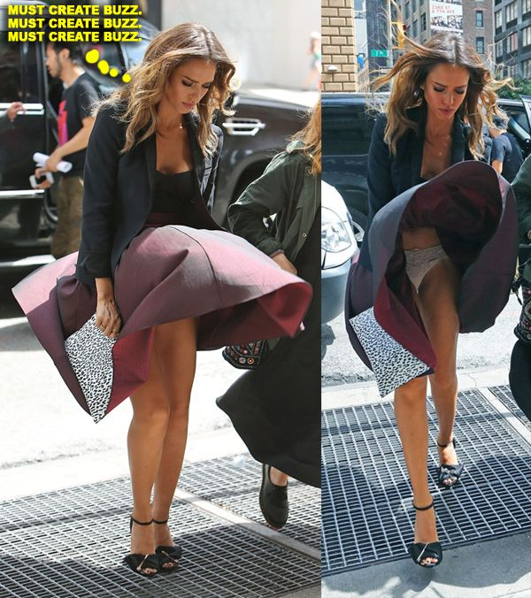 Jessica Alba Upskirt While Leaving Her Hotel 2 Jpg 600