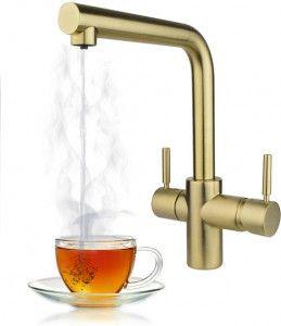 Taranto Brushed Gold Instant Boiling