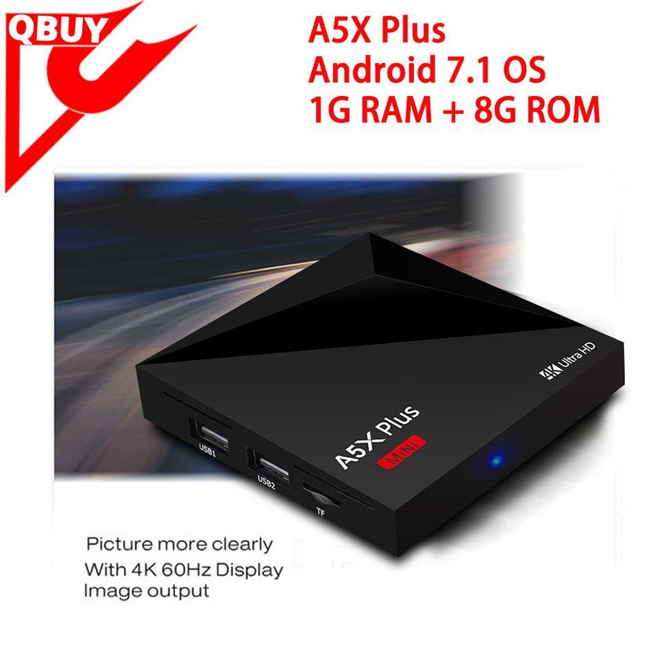 Rockchip 3328 Android 7 1 TV Box a5x plus Kodi 17 Fully
