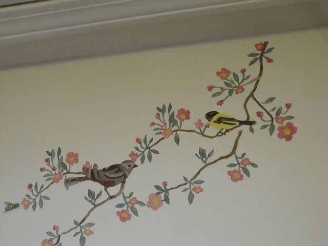 Another Stenciled Wall