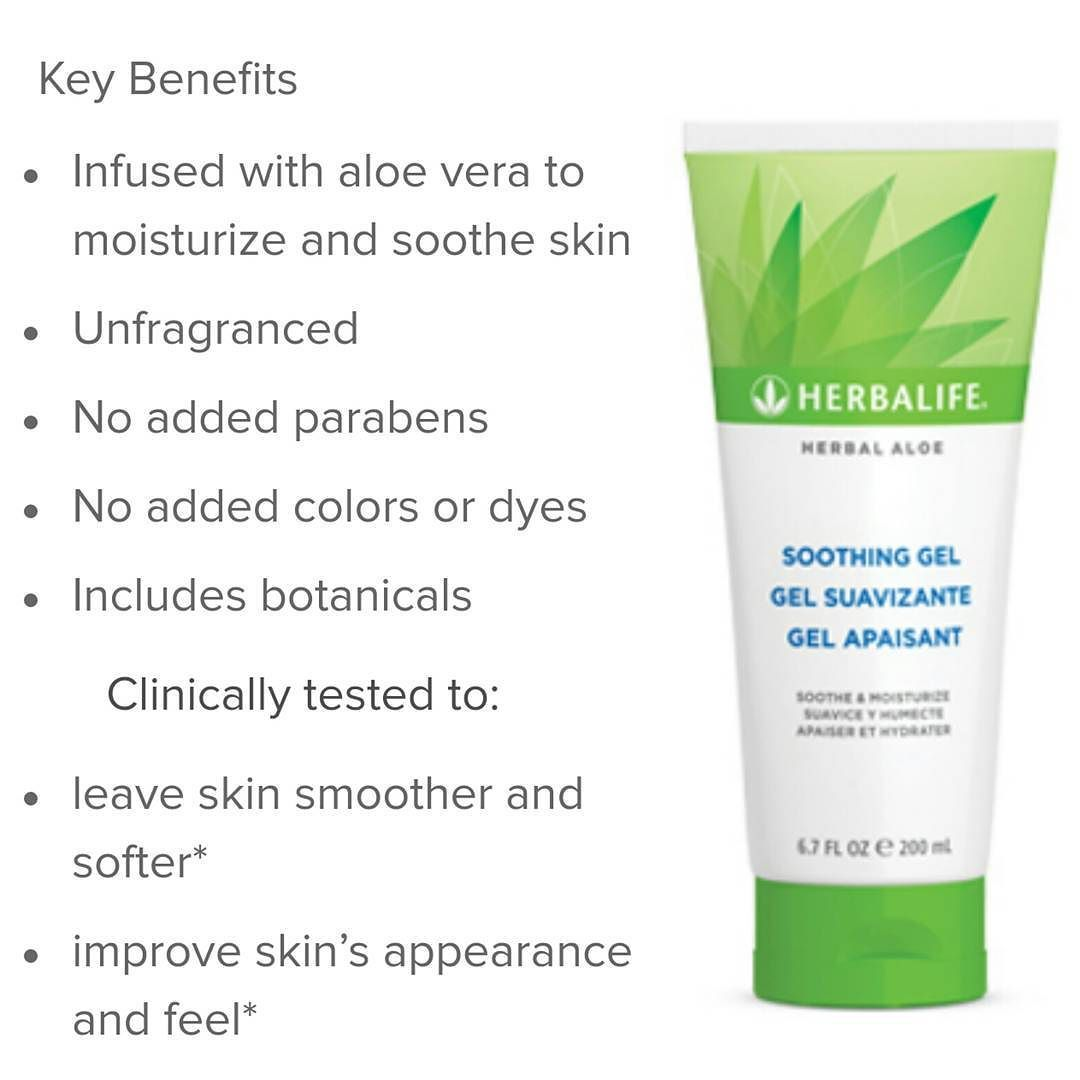 Daisy On Instagram Herbal Aloe Soothing Gel I Absolutely Love Aloe And Herbalife Has A Lot Of Aloe Product Herbalife Herbalife Aloe Herbalife Nutrition Club