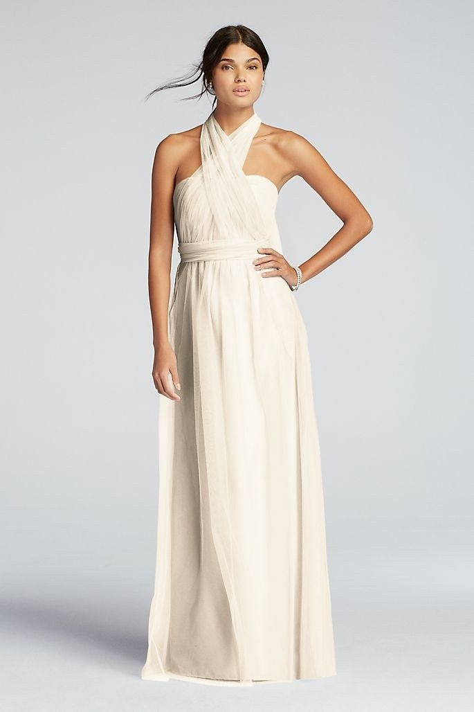 d3f78d1eda 57 White Bridesmaid Dresses For Every Style | Brides | Bridesmaids ...