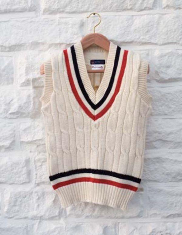 Cricket sweaters!