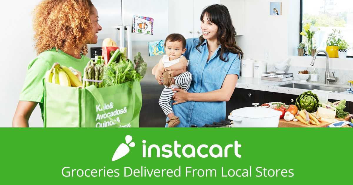Instacart a Shopper Delivery groceries