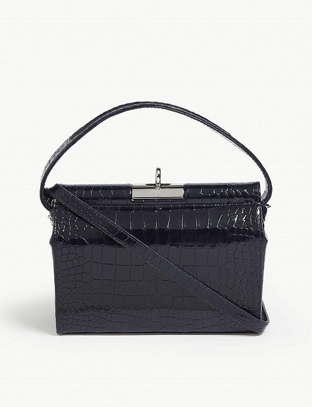 85300235030 GU DE Croc-embossed leather bag in 2019 | wl // bags bags bags ...