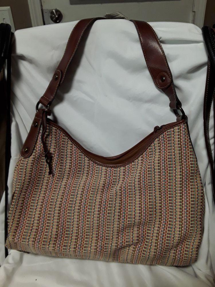 Gently Used Fossil Brand Purse Handbag Fashion Clothing Shoes Accessories Womensbagshandbags