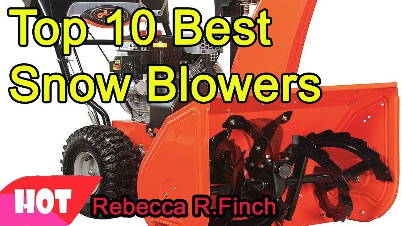 Best Snow Blower 2021 Best Snow Blowers 2020 2021. #BestSnowBlowers20202021