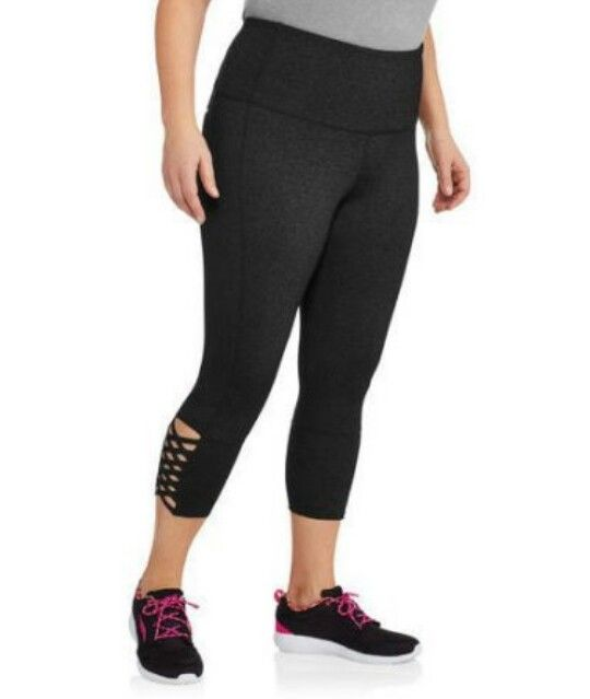 357d63b182414 Danskin Now Womens Plus Active High Waist Crop Leggings @ Walmart.com $15.46