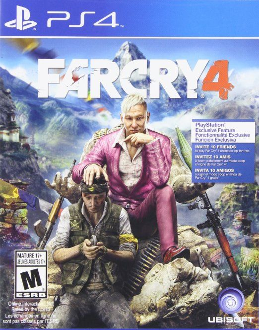 Far Cry 4 Playstation 4 Standard Edition Far Cry 4 Xbox One Games Ps4 Or Xbox One