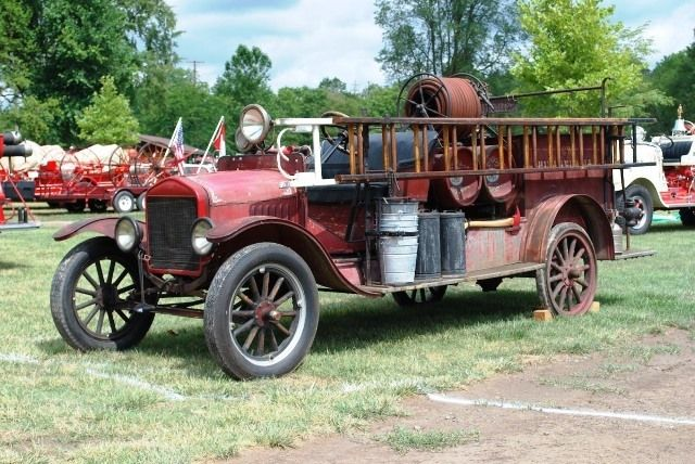 1909 American Lafrance Tip 5 1 Fire Trucks Rescue Vehicles