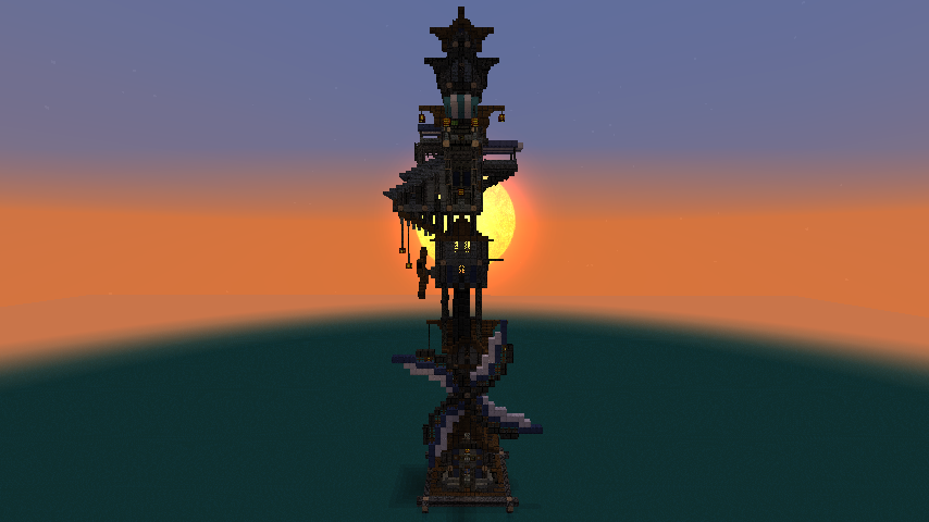 Minecraft Steampunk Builds images