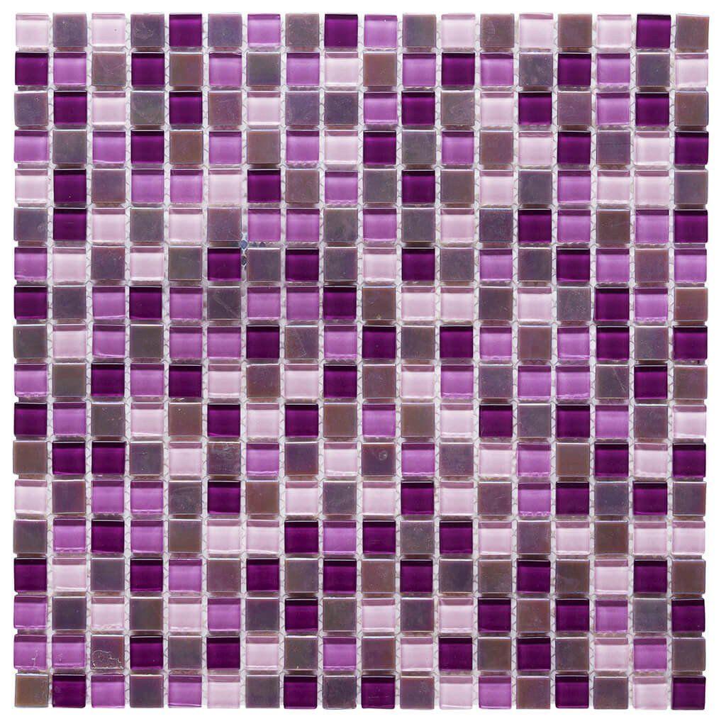 c024c0ba4 Malla Decorativa Purple Bliss con mezcla de cristales en tonalidades de  morado, estilo tornasol.
