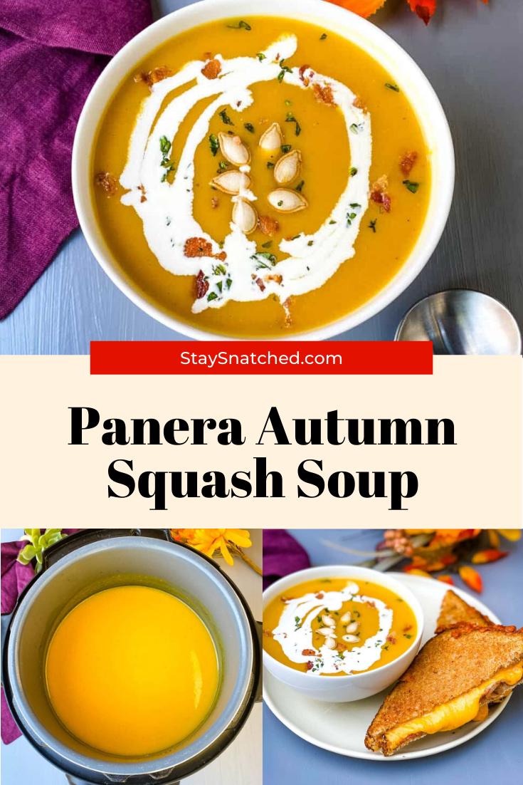 Easy Panera Autumn Squash Soup Recipe in 2020 Autumn