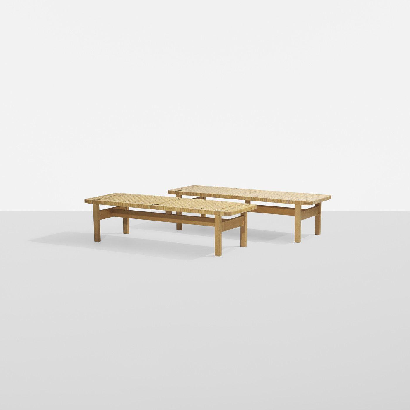 BØRGE MOGENSEN benches