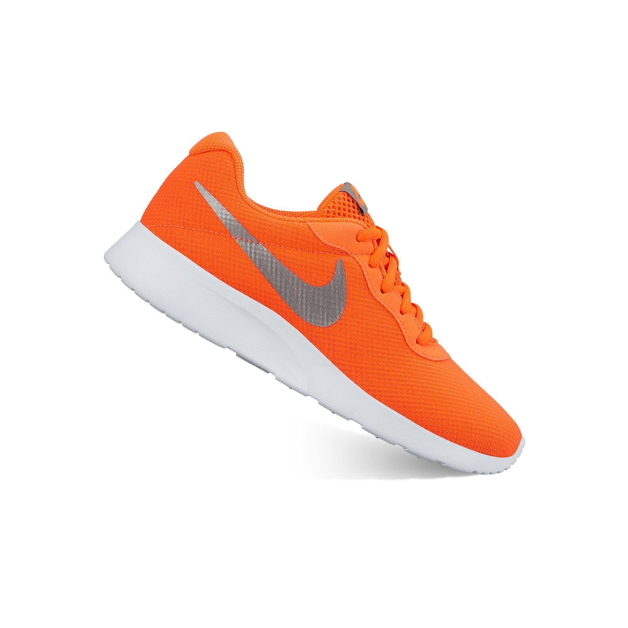 new style 09d9a 19c14 ... australia nike tanjun womens athletic shoes size 6.5 drk orange 4b25f  c6dd1