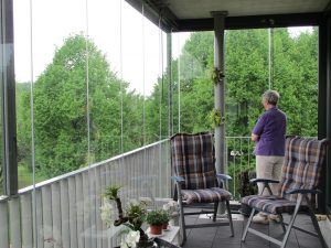 Balkonbeglazing dronten metalura ◯ balkonkamers
