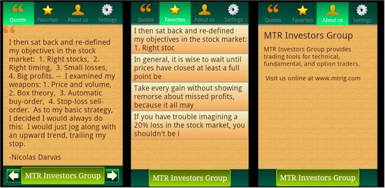 Profitable Trading Wisdom FREE Android App Trading