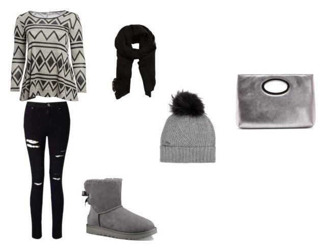 """""""Bez naslova #134"""" by begajeta1972 ❤ liked on Polyvore featuring Pretty Young Thing, Miss Selfridge, UGG, MANGO, Woolrich, Donald J Pliner and plus size clothing"""
