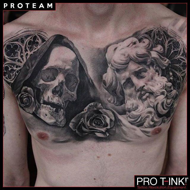 Beautiful realistic piece by Pro T-Ink Artist @matteopasqualin! #protink #proteam #matteopasqualin #pasqualintattoo #realistic #tattoos #topartists #protink #evo #evo10 #evo24 #proteam #tattooworkstation #tattoosetup #tattooequipment #tattoosupply #tattoorevolution #inkcups #tattooink #quicktattoosetup #stopcrosscontamination  www.pro-t-ink.com