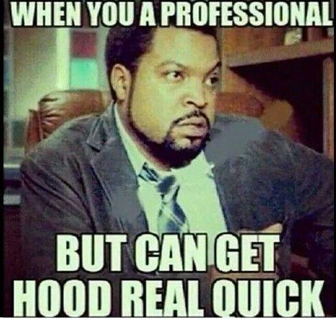 Ice Cube Professional Hood Work Humor Workplace Humor Work Memes