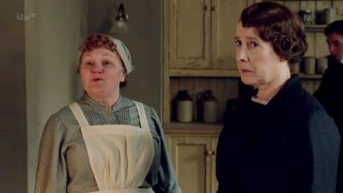 mrs patmore and mrs hughes