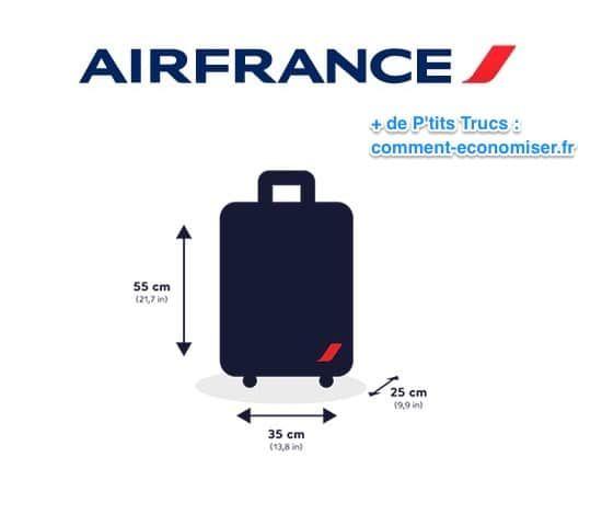 Bagage Cabine Les Tailles A Respecter Pour Ne Jamais Payer De Supplement Bagage Trucs De Voyage Bagage En Cabine