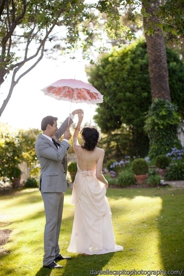 A Substitute For Mistletoe Umbrella Wedding Wedding Loverly Weddings